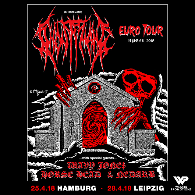 GHOSTEMANE – Euro Tour April 2018