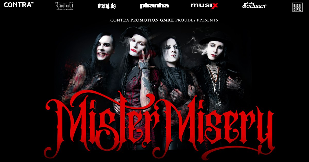Mister Misery - The Unalive Tour