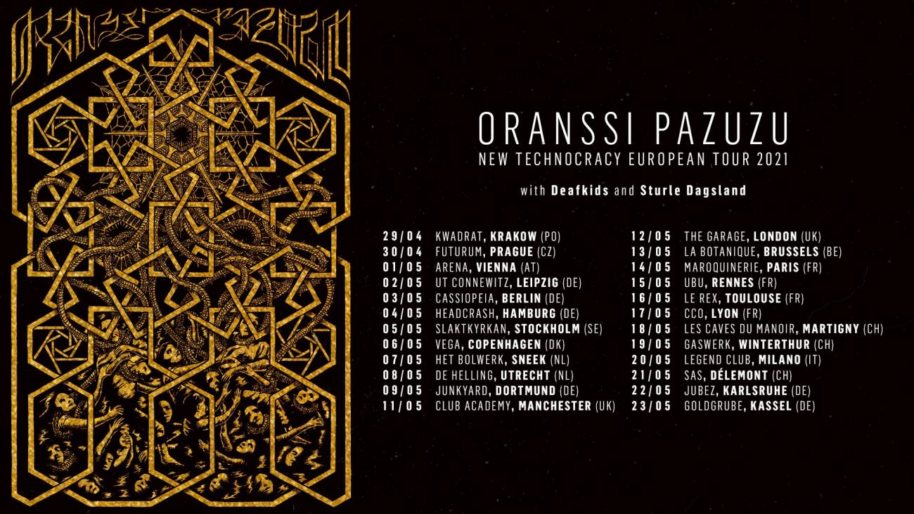Oranssi Pazuzu - New Technocracy European Tour 2021