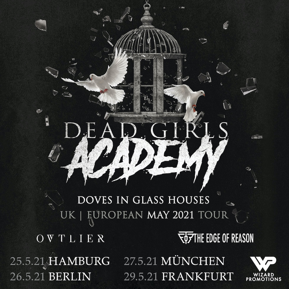 Dead Girls Academy - Into The Black Tour Europe 2020