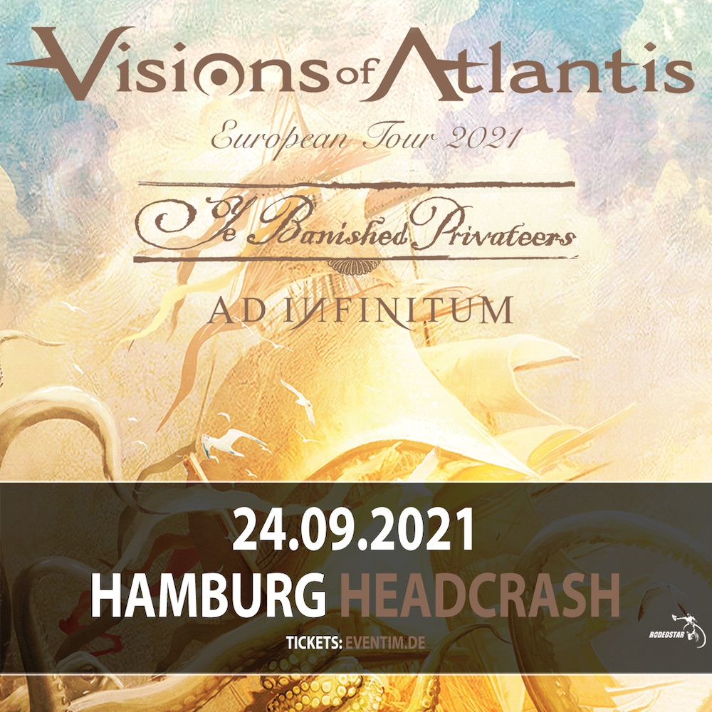 "VISIONS OF ATLANTIS ""European Tour 2021"""