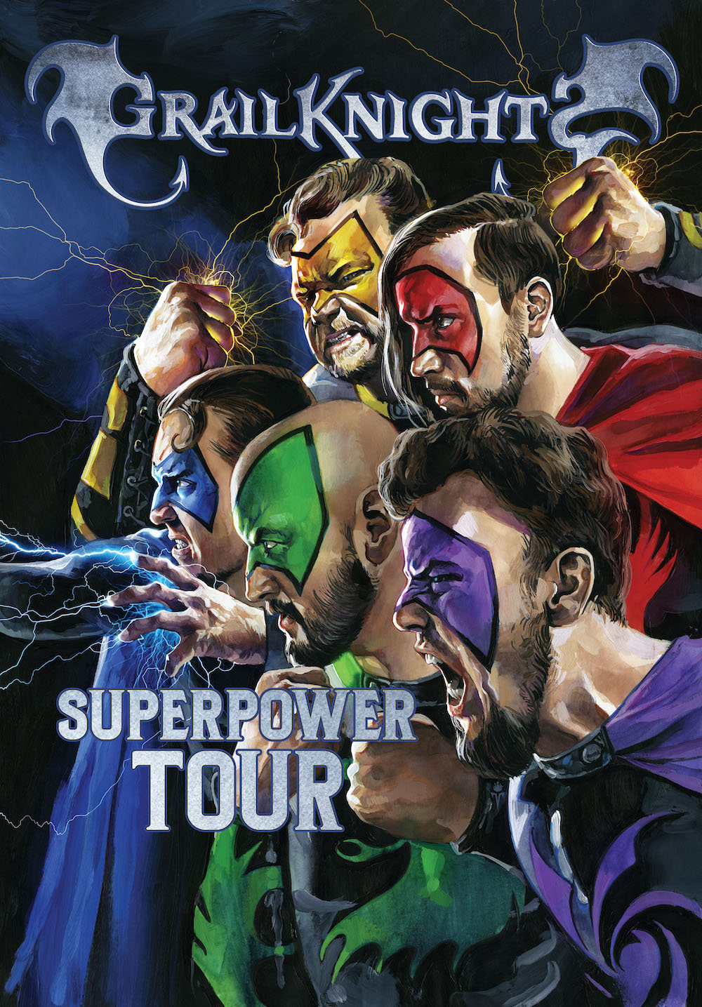 GRAILKNIGHTS - SUPERPOWER TOUR 2021